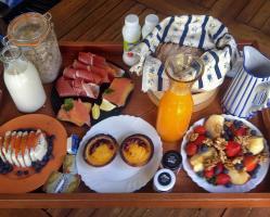 Pequeno-almoço no Cerro da Fontinha